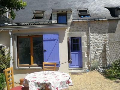 Photo for Traditional house between sea and countryside in Piriac. 15 minutes from the beach by bike