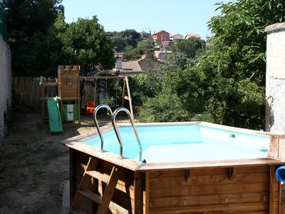 Photo for House on one level with pool