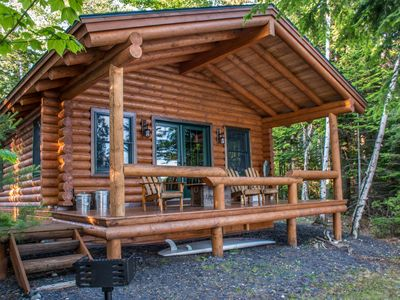Photo for Luxury 4 Season Cabin-   Moosehead Lake. with private dock