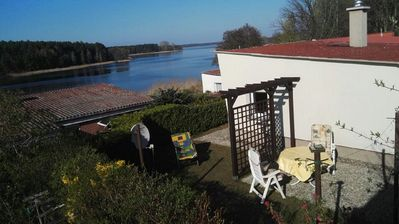 Photo for Holidays on the lake in beautiful natural Mecklenburg-Vorpommern near the Baltic Sea