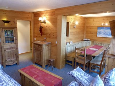 Photo for Les Arcs 1800: Charming appartment in the hearth of ARCS 1800