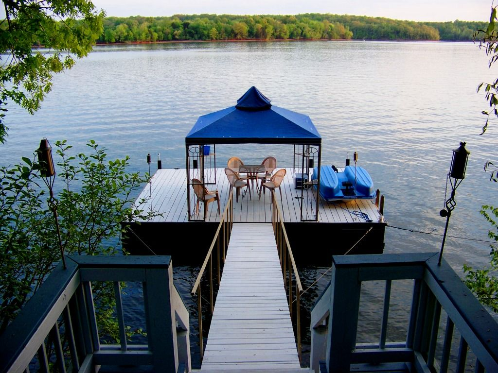 Lakefront With Floating Dock Hot Tub Home Homeaway