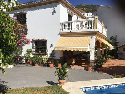 Photo for Large private villa with own pool.  Electric gate access and off road parking.