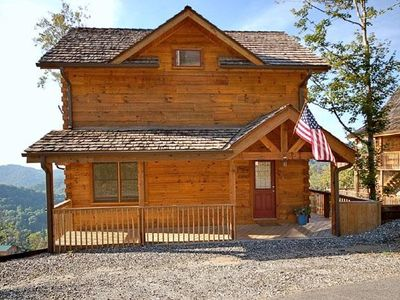Photo for Top of the World Mountain Cabin