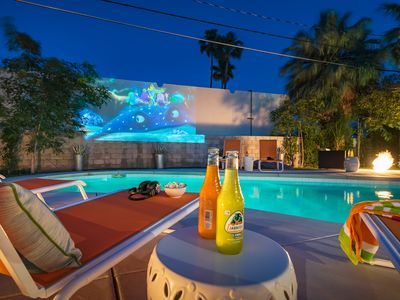 Photo for EVERYTHING: Mid-Century Tiki AND Outdoor Movies!