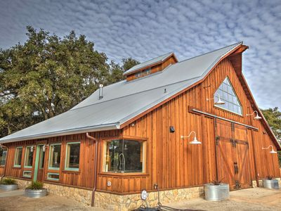 Photo for Flying Spur Ranch - Modern Rustic Barn House - BIG views OPEN space