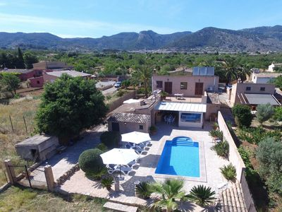 Photo for IDYLLIC FINCA - private pool with sun terrace, Wifi, TV, AC, BBQ