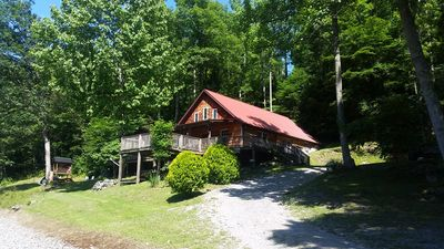 Paradise Cabin at Pardise in the Woods overlooking the Buckhannon River