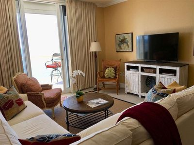 Photo for Picturesque Gulf-front Condo With Private Balcony