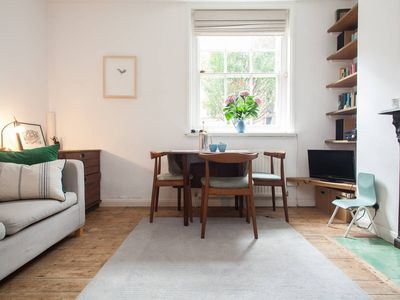 Photo for Beautiful Light Quiet Victorian Flat in Lovely Area