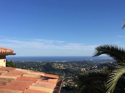 Photo for A balcony on the Mediterranean