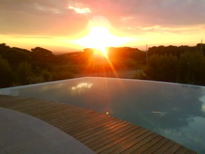 Photo for House with garden, 900 meters from Guincho beach, Pool, Sea and Mountain view