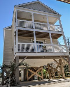 Photo for Newly decorated, New Interior Paint!! Short walk to the Beach! 4Bdrm/3.5 Bath