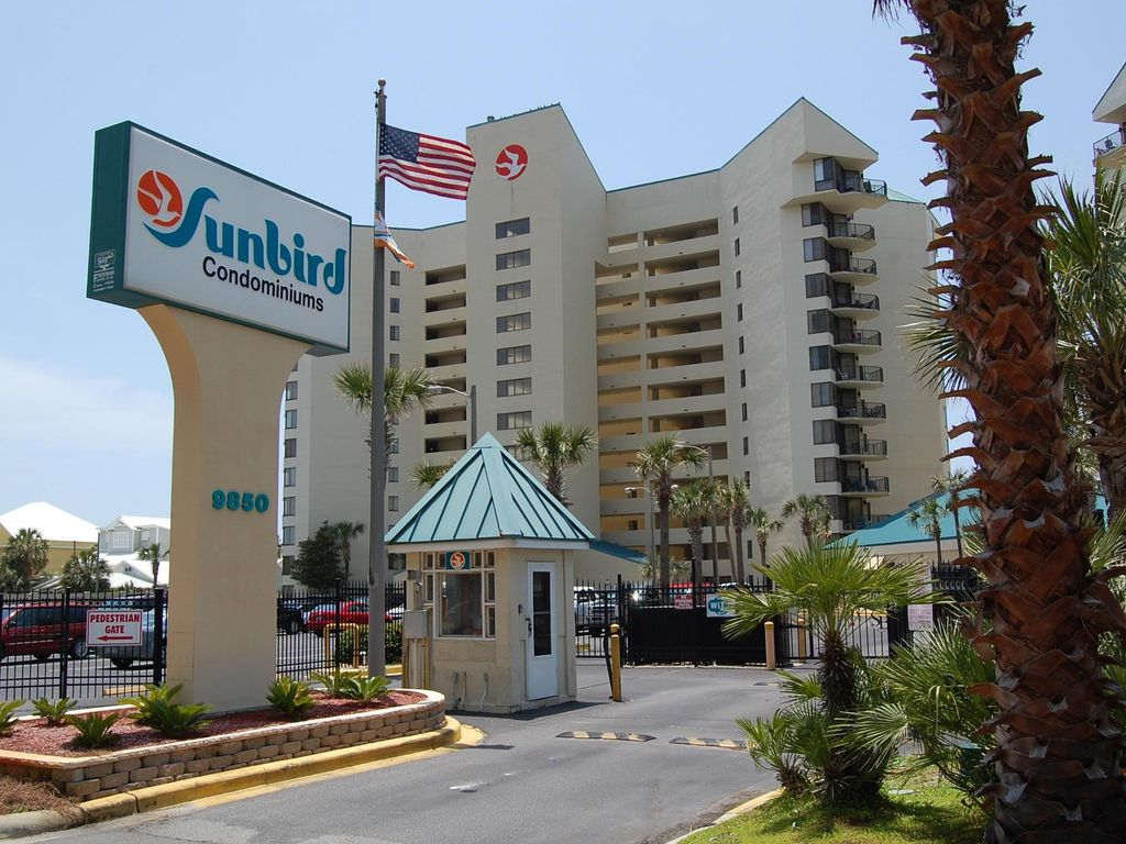 Sunbird Resort Beautiful Gulf Front Condo At The Best Price 2 Free Beach Chairs Share Panama City