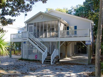 Photo for Harmony Shores - 4BR/2.5BA, Beach Walk, Screened Porch