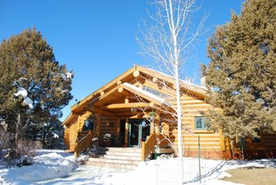 Orion's View  - Custom Log Home on 5.5 acres in beautiful Durango CO