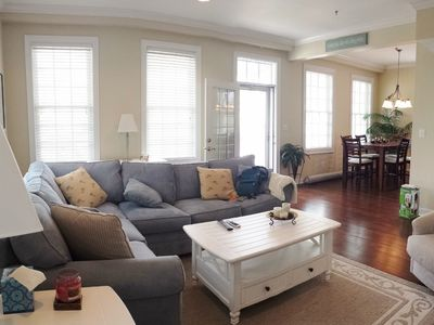 Photo for LAUGHING GULL-Modern Condo-Sleeps 6 to 8.  1.5 Blocks To Beach. PET FRIENDLY