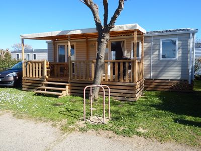 Photo for mobile home 2018 with terrace