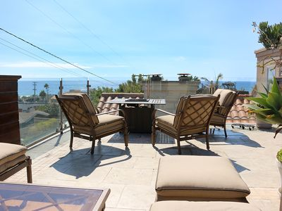 Photo for Steps from the sand! New Hermosa Beach House with View and Rooftop Deck
