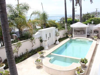 Photo for Chic Beach House with pool & ocean views ... 5 minute walk to beach