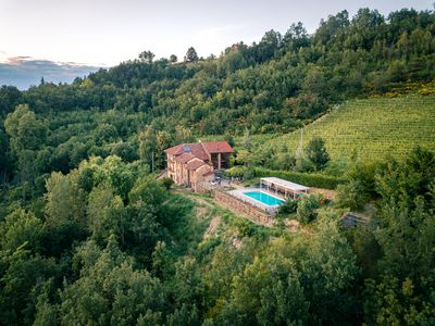 Photo for Piedmont Barolo 17th C. Villa, Pool, WiFi, Cooking Classes, Wine Tours