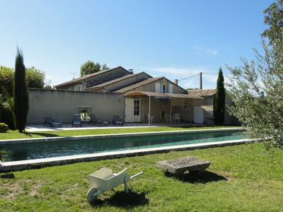 Photo for Farmhouse with pool 1500m SAINT REMY DE PCE
