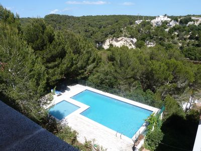 Photo for Cala Galdana, Villa with Views 400 m from the beach, wide-comfortable and familiar