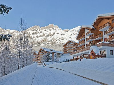 Photo for Leukerbad Apartment, Sleeps 2 with Free WiFi