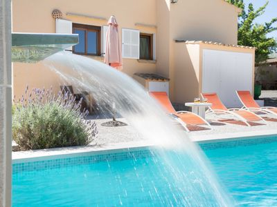 Photo for Nona - Charming small country villa with pool near Artá