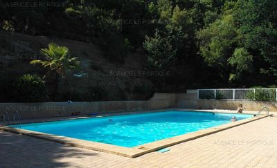 Photo for Rent apartment 2 rooms for 4 beds in residence with swimming pool 350m from the beach ...