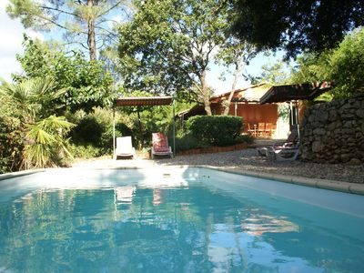 Photo for Comfortable detached holiday home with gorgeous garden and private swimming pool