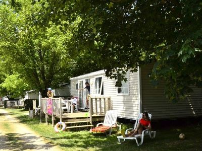 Photo for Camping Les Terrasses Du Lac **** - 3-room Cocoon mobile home for 6 people