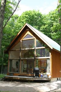 Photo for A-frame Nestled in a Beautiful Wooded Area On Lake of Bays