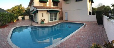 Enjoy cooling, private pool in sunny South Florida.