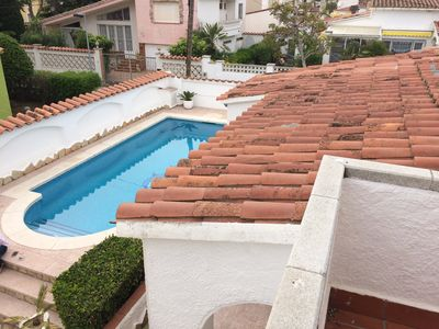 Photo for COMFORTABLE VILLA COMPRISING 3 APARTMENTS WITH SWIMMING POOL AND CLOSE TO THE BEACH