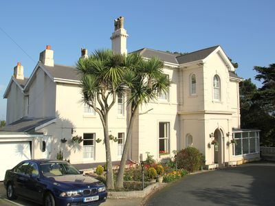 Photo for Spacious One bedroom Ground Floor Apartment overlooking the rear gardens.