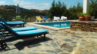 Photo for House With 2 Bedrooms in Odemira, With Wonderful Mountain View, Pool A