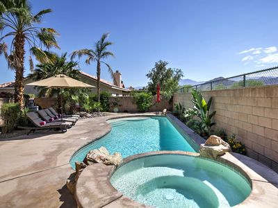 Photo for La Quinta Home w/ Pool, Hot Tub, Yard & Mtn Views!