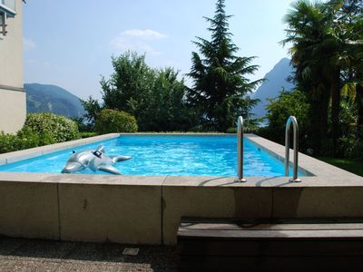 Photo for Nice apartment for 2 people with WIFI, pool, TV and parking