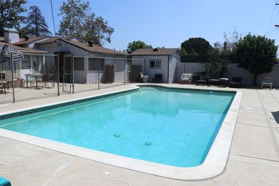 Craner pool/ large private pool/ not heated