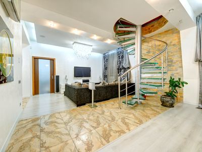 Photo for Two-level four-room penthouse