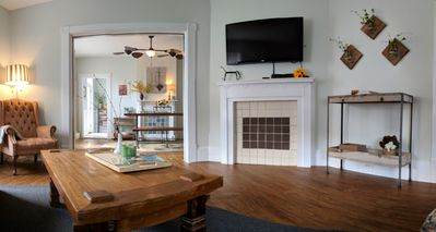 Photo for Charming house (3BR, 1.5B) in walking distance to the beach. Some pets accepted.