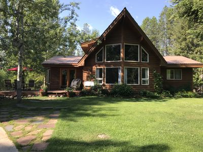 Photo for Only 5 Miles To Glacier National Park W/Hot tub, fire pit and more!