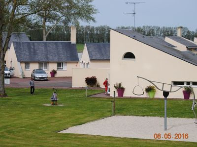 Photo for Gîte on a small-scale holiday park at 5 km from Mont Saint-Michel