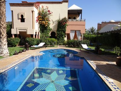 Photo for SUPERB VILLA WITH PRIVATE SWIMMING POOL NEAR THE GOLF