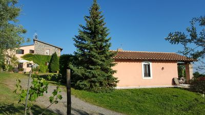 Photo for Typical Italian Country Apartment in Agriturism. Swimming Pool. Free WiFi