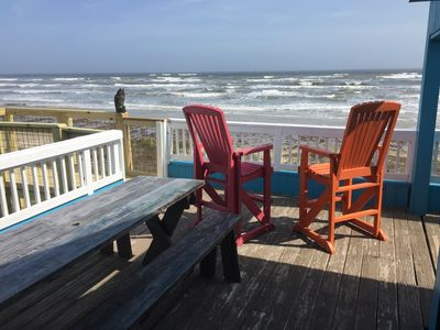Photo for Special 6/2-5 $450/nt!! OCEANFRONT! Best View on the Island!!