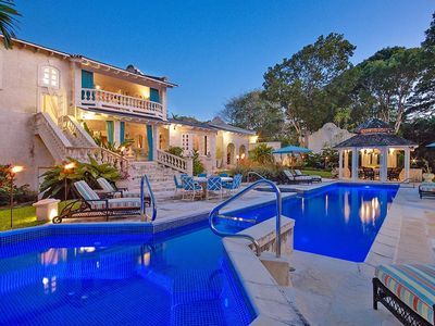 Photo for A 5 Bedroom Sandy Lane Villa Offering Privacy, A Superb Pool & The Beach Nearby