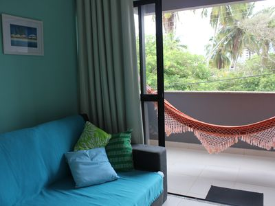 Photo for Beautiful, new apartment, 100 meters from the Beach of the Millionaires, safe, central