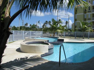 Photo for Ocean View 3 bed Beautifully Appointed Home, Steps To Ocean, Two Pools,